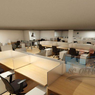 escritorios para call center