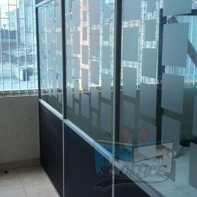 muros en vidrio