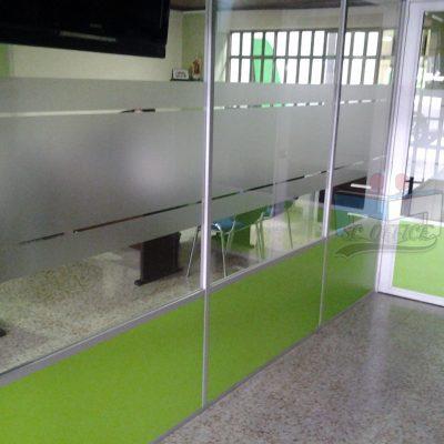 separadores en aluminio