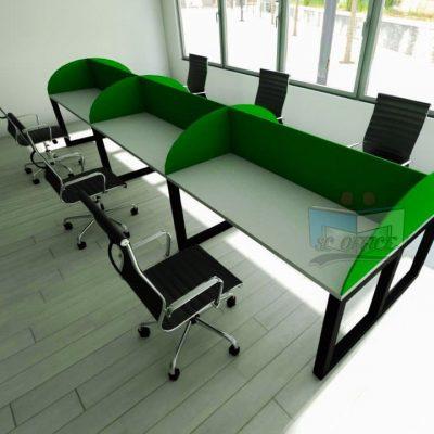 mesas para call center