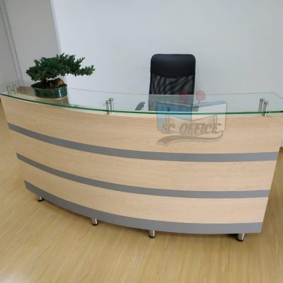 recepción para oficina moderna